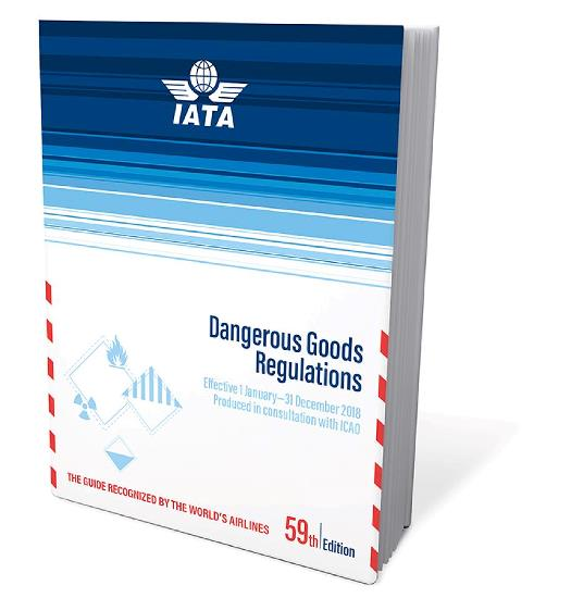 IATA DGR m/spiralryg 59th edition 2018 - u. abonnement