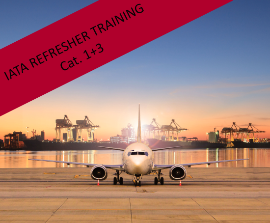 IATA Refresher Training, Cat. 1+3