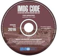 IMDG code - CD rom, 38-16, 2017 - u. abonnement